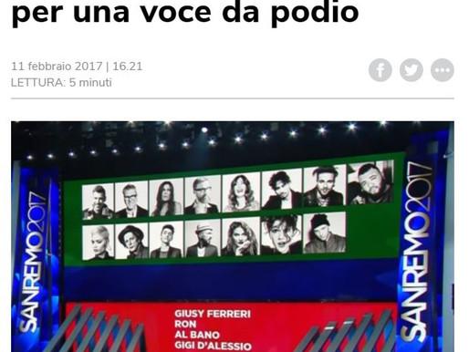 Sanremo, il decalogo dell'osteopata dei cantanti per una voce da podio
