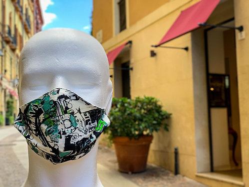 Bamboo Masque Basquiat
