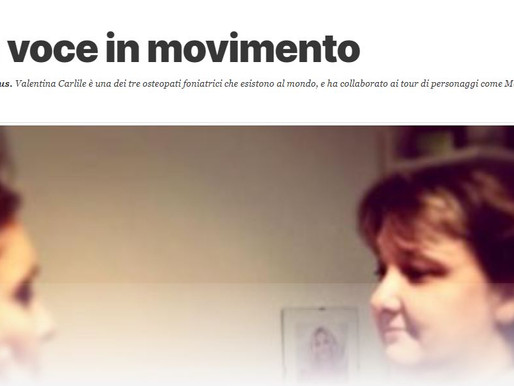 Una voce in movimento