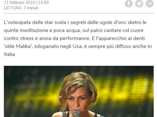 Salute: esperta voce a cantanti Sanremo, risotto alle pere e pochi virtuosismi