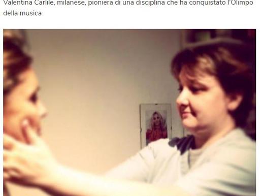 Salute: curare la voce con le mani, è italiana l'osteopata delle star