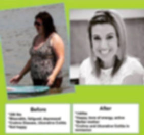 Optavia Health Coach Richmond Va Karleen before and after weight loss