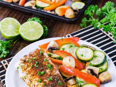 Sheet Pan Chili Lime Cod