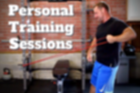 Personal trainer and nutrition coach exercising