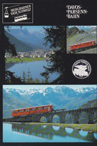 Davos Persenn Bahn - Bergbahnen der Schweiz - Silber Medaille