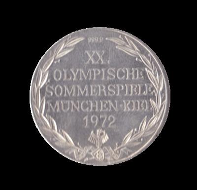 Silbermedaille 20. Olympische Sommerspiele München 1972