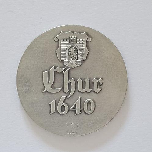 Silbermedaille Chur 1640