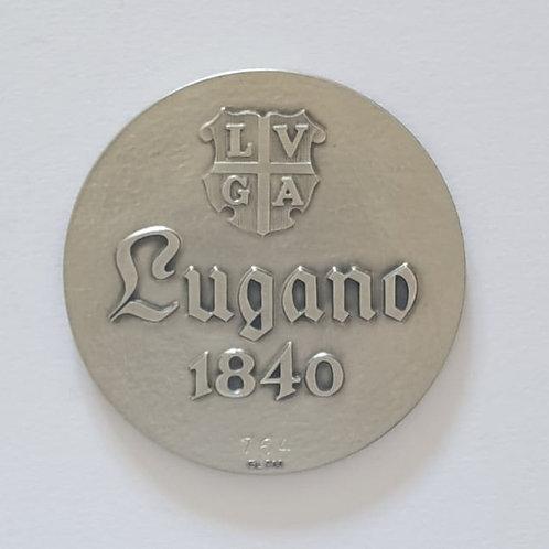 Silbermedaille Lugano 1840