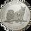 1 kg Silber - Gambia Endangered Wildlife - 1996 Proof Silbermünze