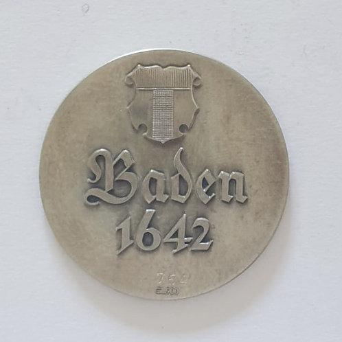 Silbermedaille Baden 1642