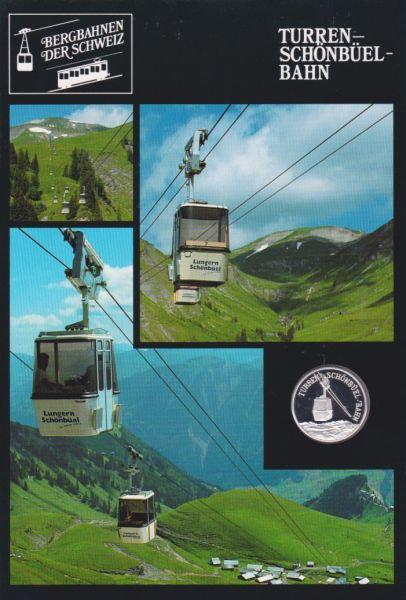 Turren Schönbüel Bahn - Bergbahnen der Schweiz - Silber Medaille