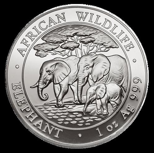 1 oz Silbermünze Somalia Elefant 2013
