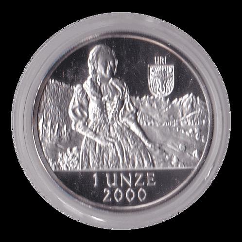 Swiss Liberty Taler - 2000 Uri
