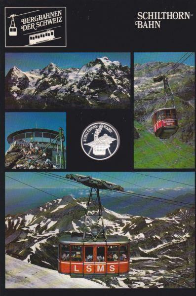 Schilthorn Bahn - Bergbahnen der Schweiz - Silber Medaille