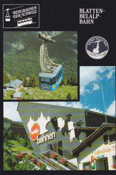 Blatten Belalp Bahn - Bergbahnen der Schweiz - Silber Medaille