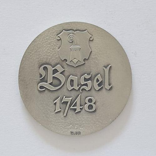 Silbermedaille Basel 1748