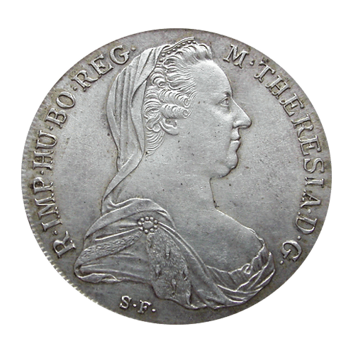 Maria Theresien Taler (MTT) Silber SF 1780