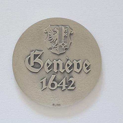 Silbermedaille Genf 1642