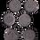 Thumbnail: 6 Prägestempel Spielgeld Kindergeld Präge Stempel Medaillen Münzen