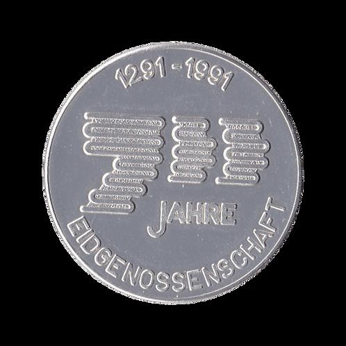 Medaille 700 Jahre Schweizerische Eidgenossenschaft 1291 - 1991