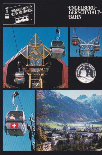 Engelberg Gernschnialp Bahn - Bergbahnen der Schweiz - Silber Medaille