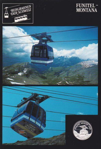 Funitel Montana - Bergbahnen der Schweiz - Silber Medaille