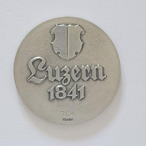 Silbermedaille Luzern 1841