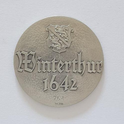 Silbermedaille Winterthur 1642