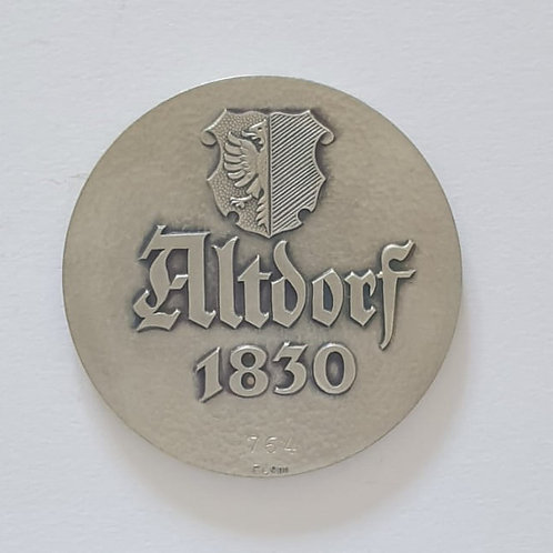 Silbermedaille Altdorf 1830