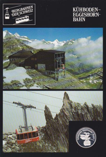 Kühboden Eggishorn Bahn - Bergbahnen der Schweiz - Silber Medaille