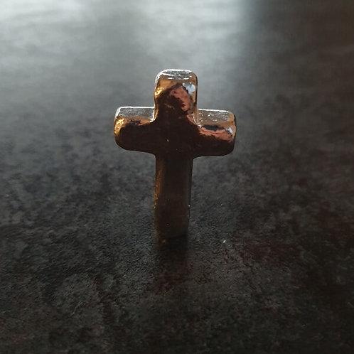 YPS 1 oz Silberbarren Kreuz