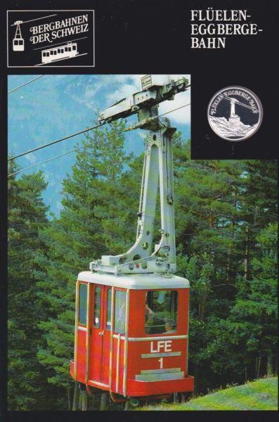 Flüelen Eggberge Bahn - Bergbahnen der Schweiz - Silber Medaille
