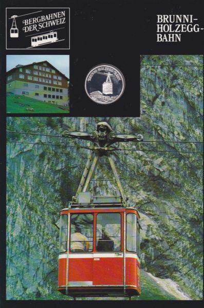 Brunni Holzegg Bahn - Bergbahnen der Schweiz - Silber Medaille