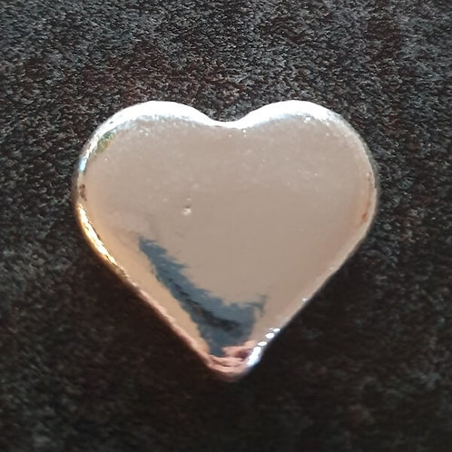 YPS 1 oz Silberbarren Herz