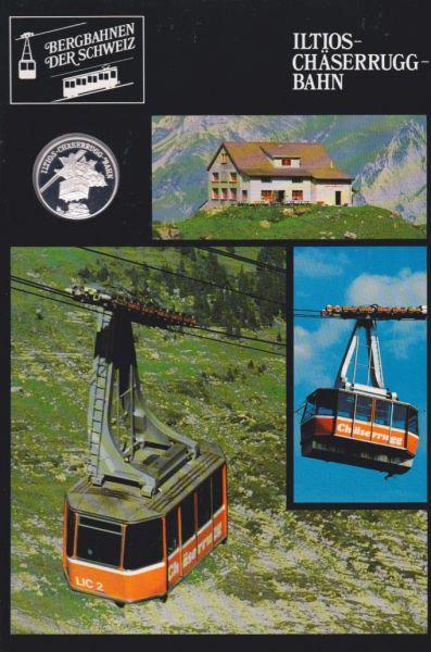 Iltios Chäserrugg Bahn - Bergbahnen der Schweiz - Silber Medaille