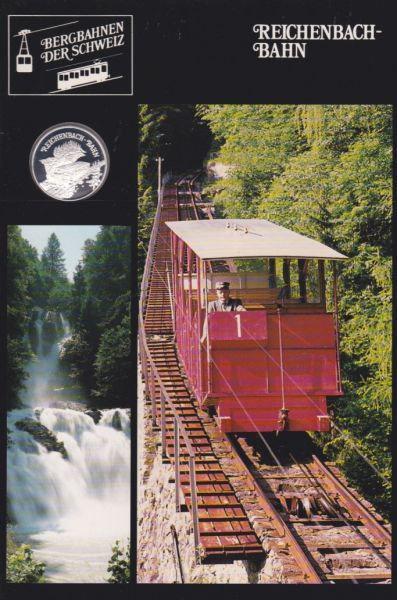 Reichenbach Bahn - Bergbahnen der Schweiz - Silber Medaille