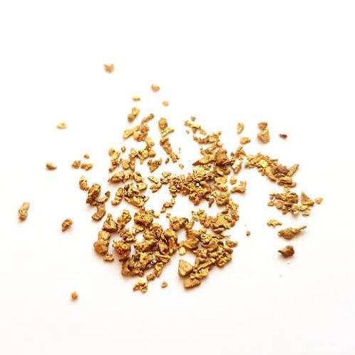 Waschgold - kleine Goldnuggets - 0.20g