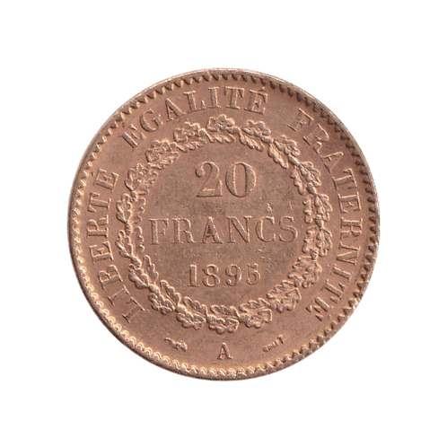 20 Franc Frankreich Goldmünze Gold
