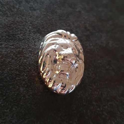 YPS 1 oz Silberbarren Löwenkopf