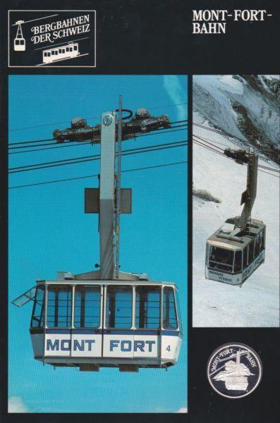 Mont Fort Bahn - Bergbahnen der Schweiz - Silber Medaille