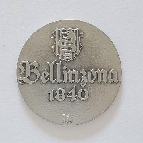 Silbermedaille Bellinzona 1840