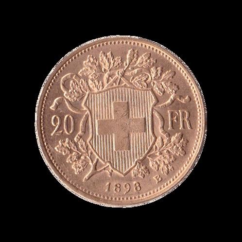 20 Franken Goldvreneli Vreneli