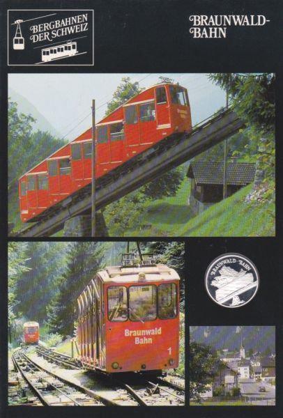 Braunwald Bahn - Bergbahnen der Schweiz - Silber Medaille