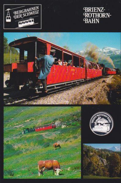 Brienz Rothorn Bahn - Bergbahnen der Schweiz - Silber Medaille