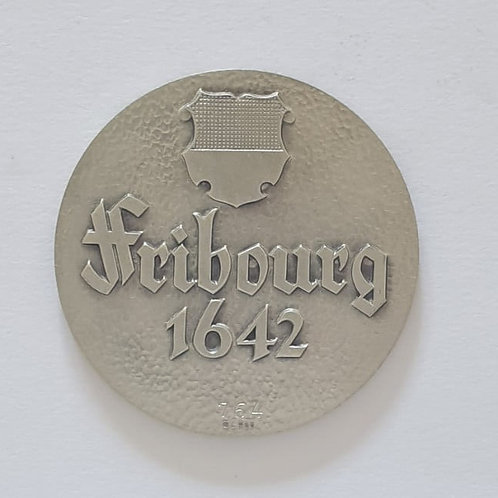 Silbermedaille Fribourg 1642