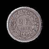 2 Franken Silber