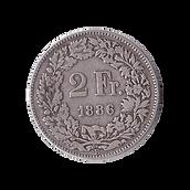 Schweizer Silbermünzen