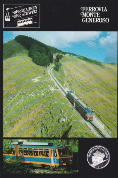 Ferrovia Monte Generoso - Bergbahnen der Schweiz - Silber Medaille