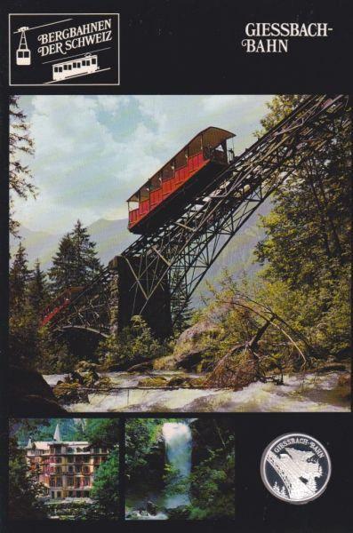 Giessbach Bahn - Bergbahnen der Schweiz - Silber Medaille