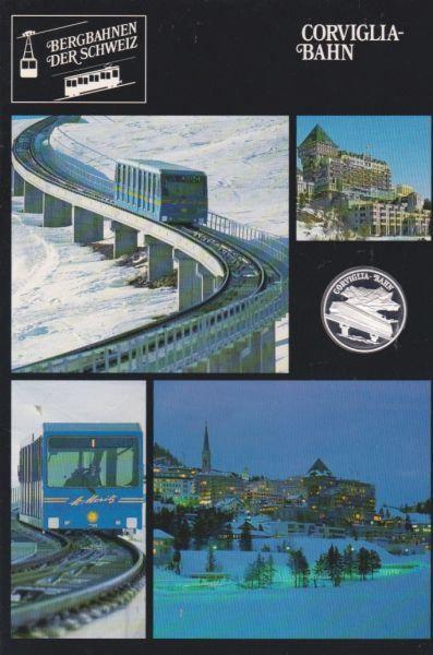 Corviglia Bahn - Bergbahnen der Schweiz - Silber Medaille